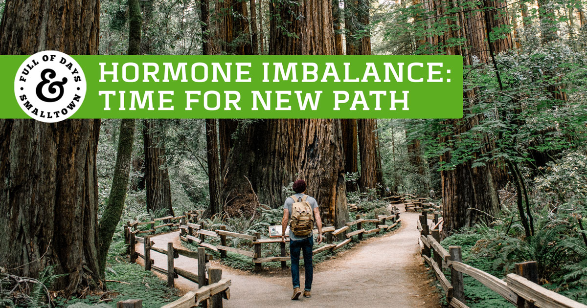 Hormone Imbalance - Time for a New Path Header Image