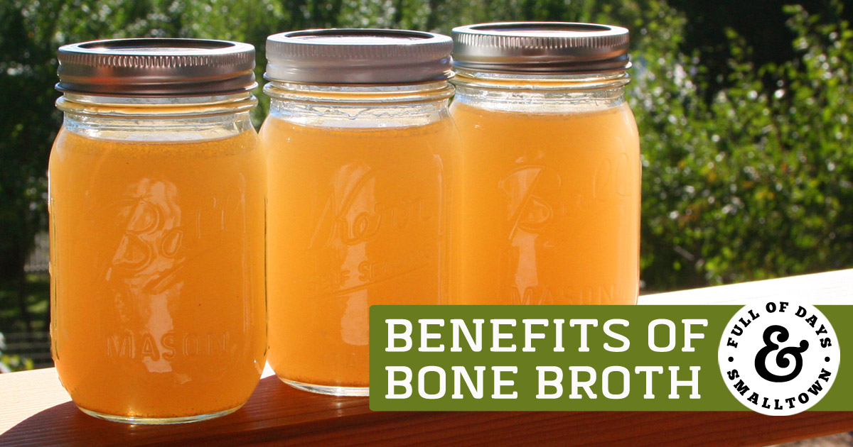 Three Jars of Bone Broth - Benefits of Bone Broth