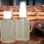 DIY Homemade Sanitizer in Travel Options
