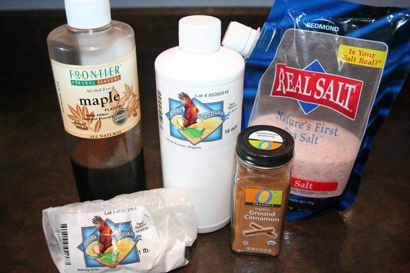 DIY Homemade Cereal Ingredients