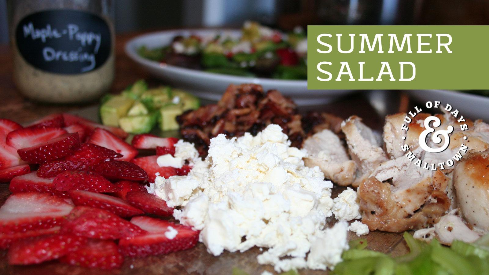 Summer Salad Header