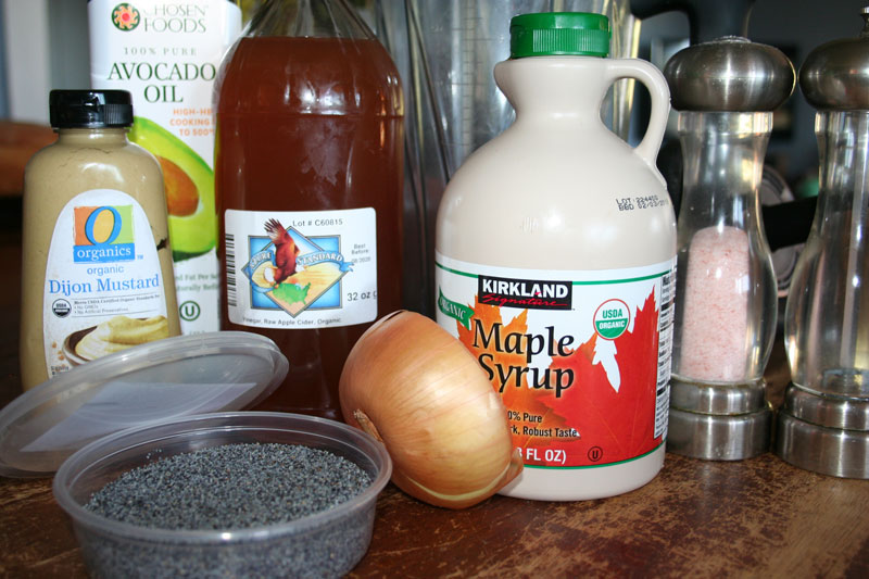 Maple Poppy Seed Dressing Recipe