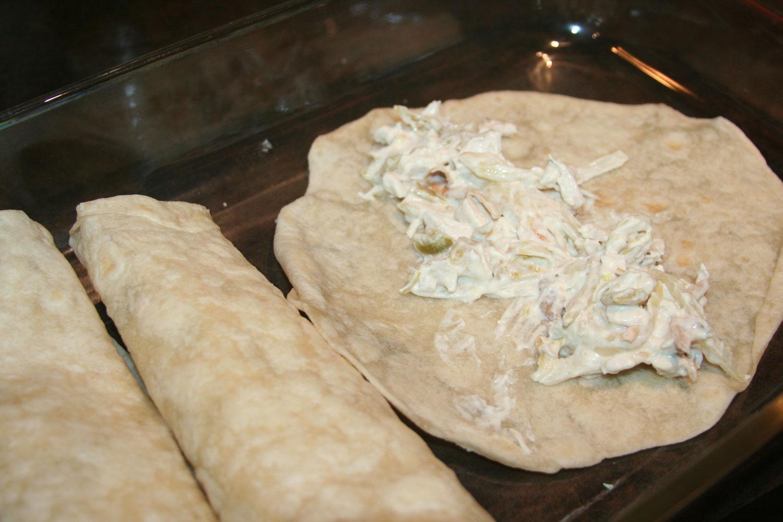 Creamy Chicken Enchiladas Recipe Step 6