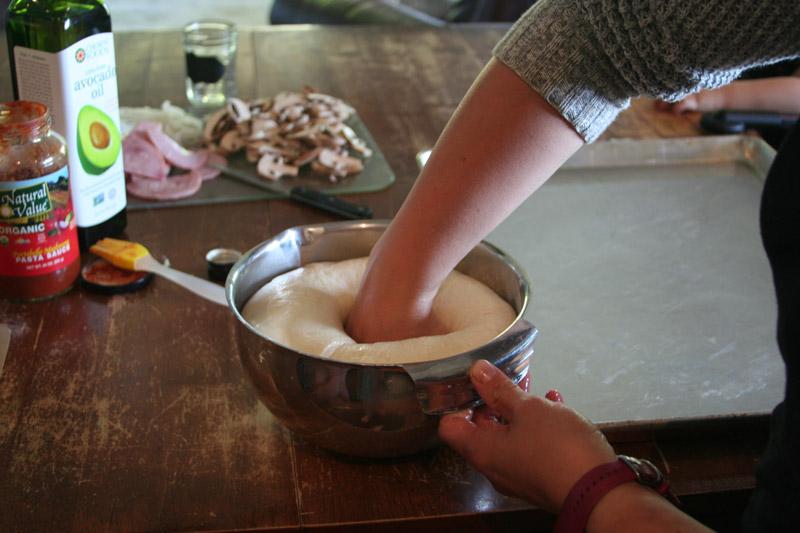 Homemade-Pizza-Recipe_Full-of-Days_Work-that-dough