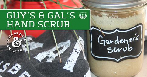 Essential Oils - Guys and Gals Hand Scrub Recipe
