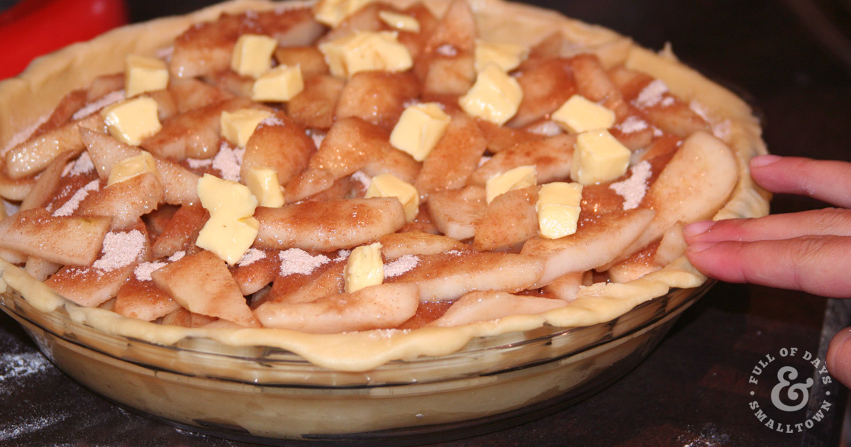 Homemade Pear Pie Recipe from Full of Days