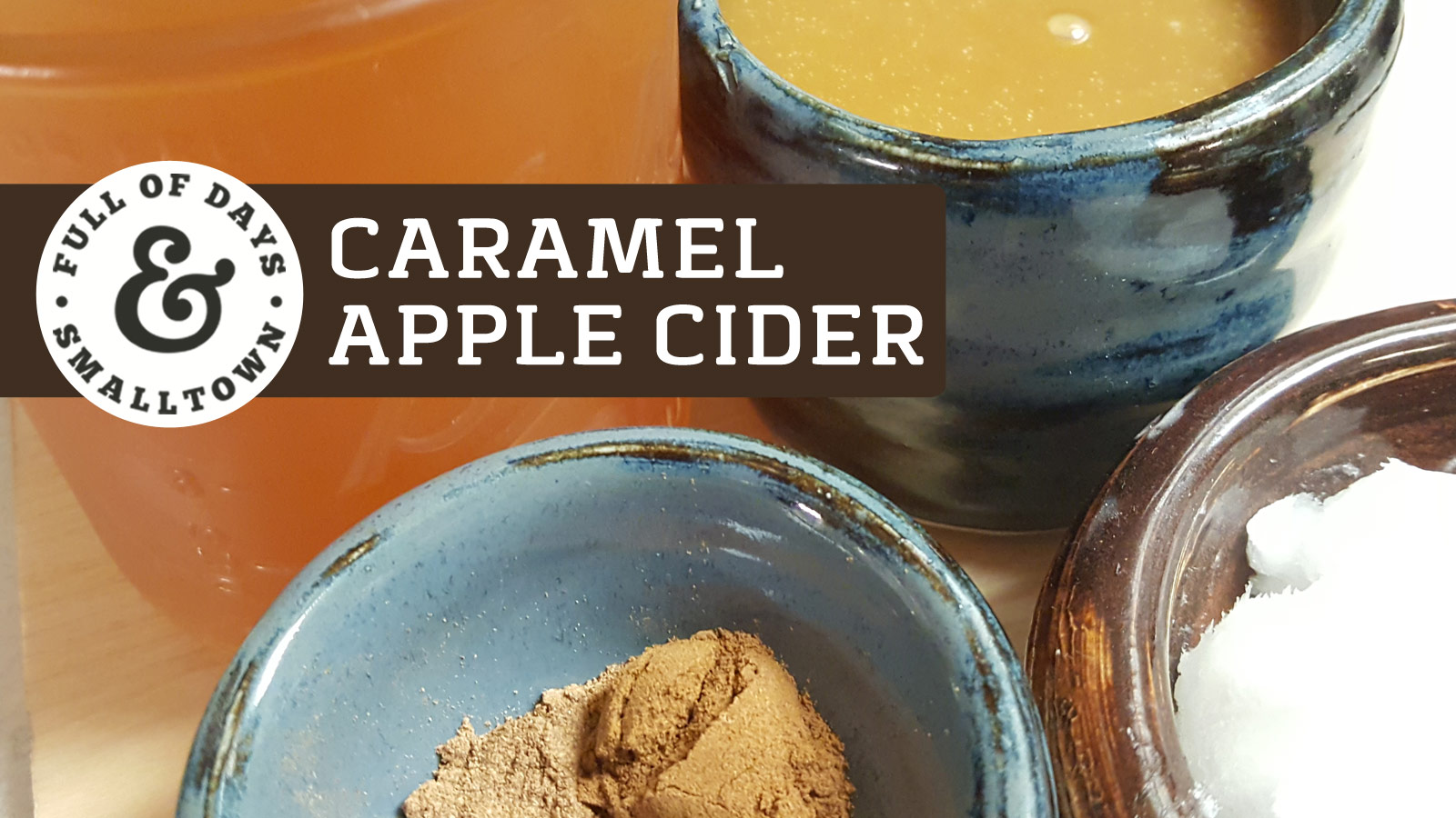 Homemade Hot Caramel Apple Cider
