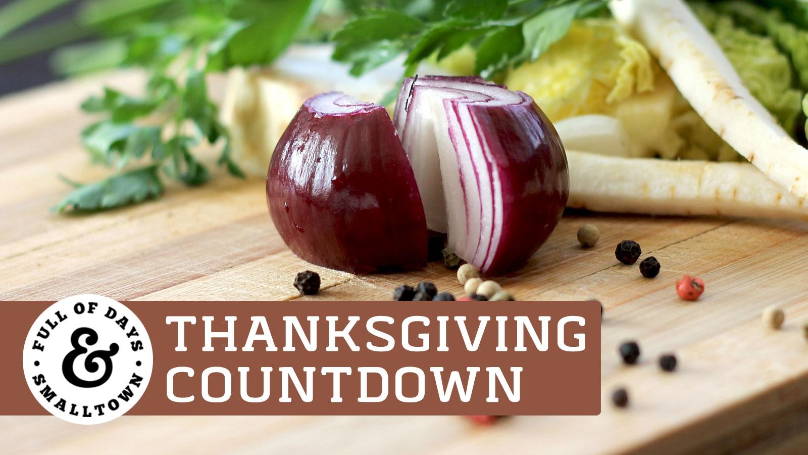 Thanksgiving Preparation Plan