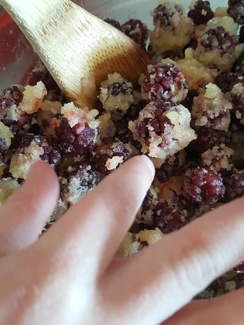 Blackberry Pie berry filling