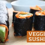 Veggie Sushi Featured Image