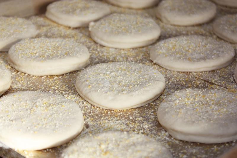 Sourdough English Muffins Step 9-10
