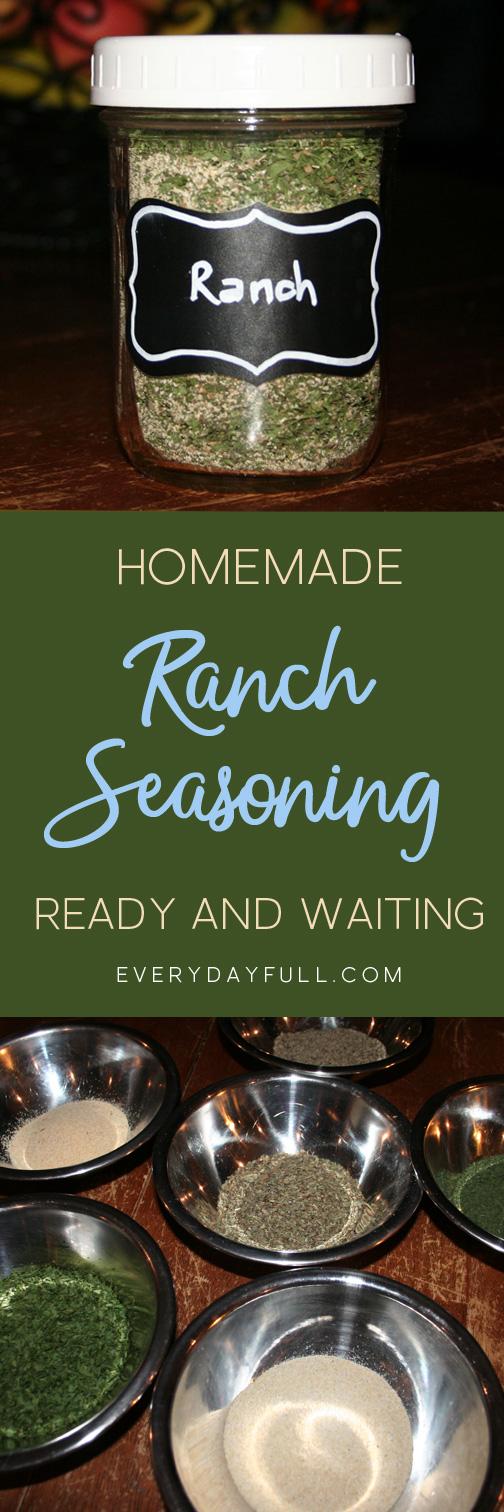 Ranch Seasoning Pin