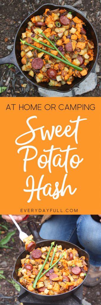 Sweet Potato Hash with Organic Kielbasa