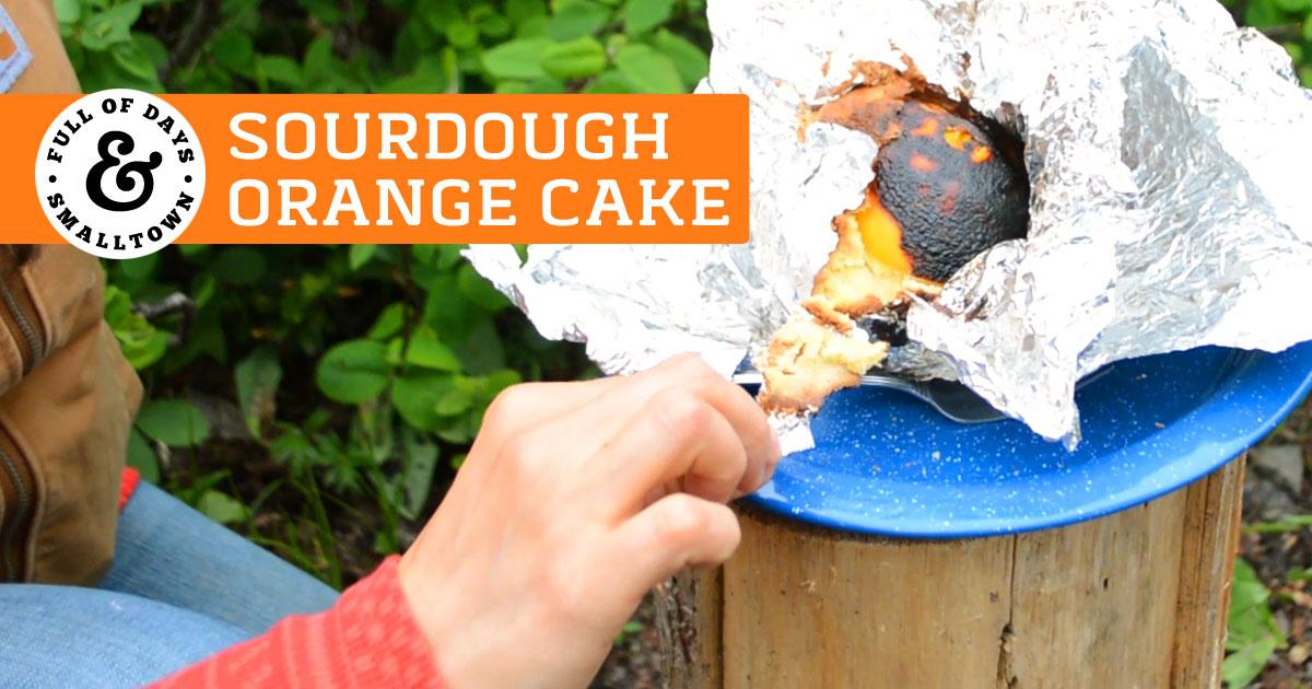 Sourdough Orange Cake Featured Image