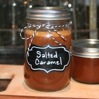 Salted Caramel in a Jar