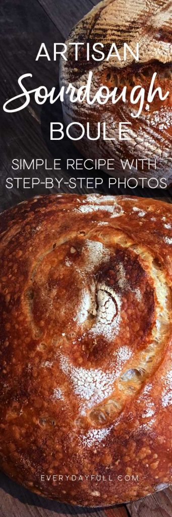 Artisan Sourdough Bread Recipe Pinterest Pin