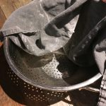 Gather your bowl, tea towel and/or banneton proofing baskets.