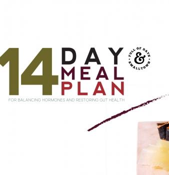 14-Day Hormone Balancing & Gut Restoring Meal Plan