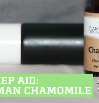 Get Sleep with Roman Chamomile