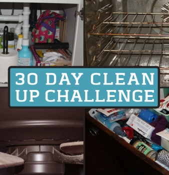 30 Day Clean It Up Challenge