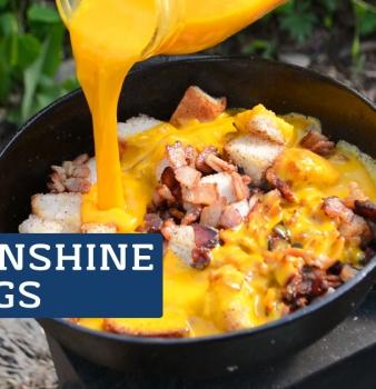 Sunshine Eggs – Best Camping Breakfast