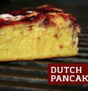 Sourdough Dutch Pancake